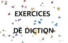 Exercices de diction