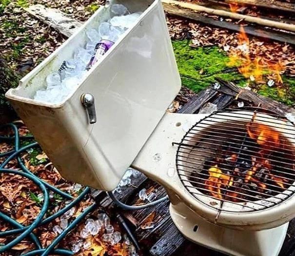 photo drole barbecue
