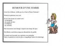 Humour de femmes